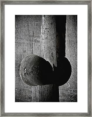 Hole Not Whole Framed Print by Odd Jeppesen