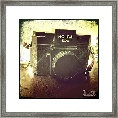 Framed Print featuring the photograph Holga by Nina Prommer