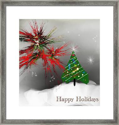 Holiday Card 2011a Framed Print