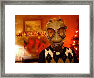 Holiday Gas Framed Print by Techne Soma