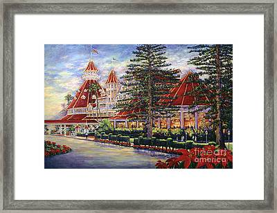 Holiday Hotel Framed Print