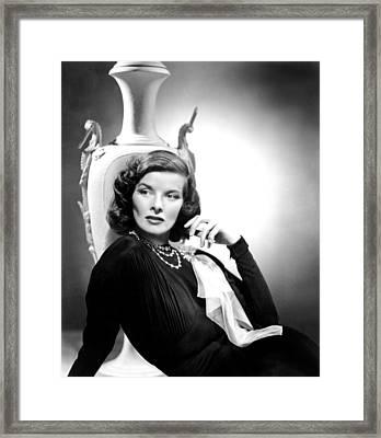 Holiday, Katharine Hepburn, 1938 Framed Print by Everett