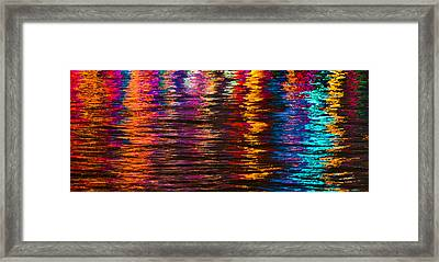 Holiday Reflections Framed Print