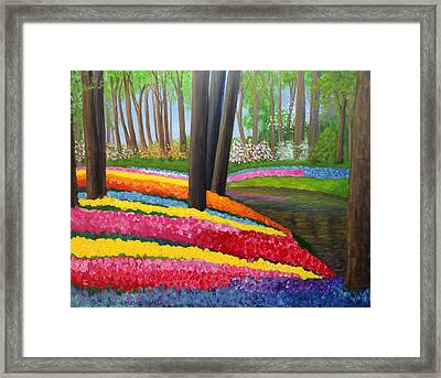 Holland Gardens Framed Print