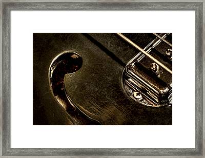 Hollow Body Framed Print