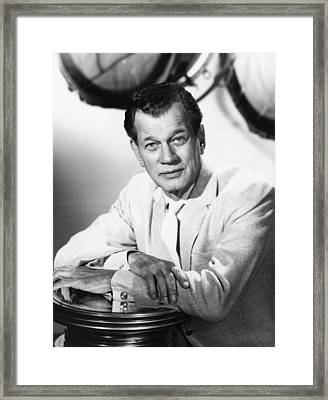 Hollywood And The Stars, Joseph Cotten Framed Print by Everett