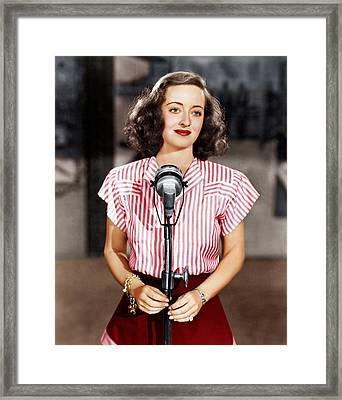 Hollywood Canteen, Bette Davis, 1944 Framed Print by Everett