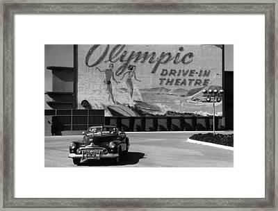Hollywood  Life Framed Print by Kurt Hutton