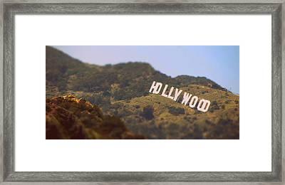 Hollywood Living Framed Print