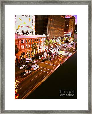 Hollywood Movie Set Framed Print by Jamie Lawrence