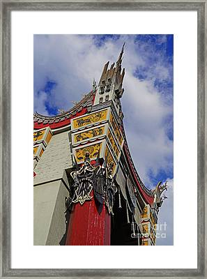 Hollywood Studios - The Great Movie Ride Framed Print by AK Photography