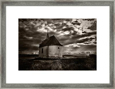 Holy Cross Chapel Framed Print by Tom Bell