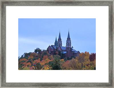 Holy Hill Framed Print by Kristine Bogdanovich