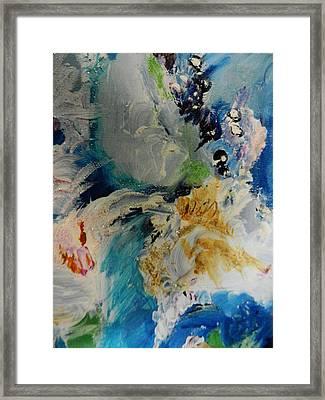 Holy Horse Plop Framed Print by Marina R Vladis