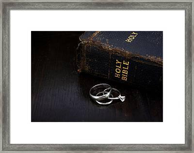 Holy Matrimony Framed Print by Lynnette Johns