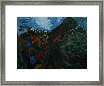 Holy Mountain Framed Print by Lynda Coleman