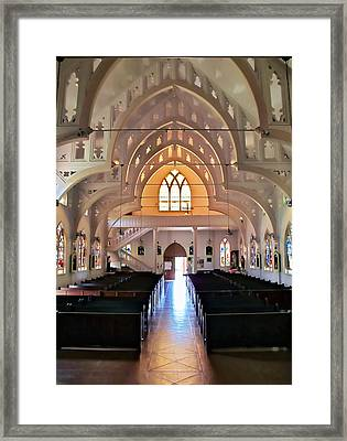 Framed Print featuring the photograph Holy Rosary 2 by Dawn Eshelman