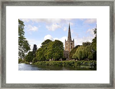 Holy Trinity Church Framed Print by Jane Rix