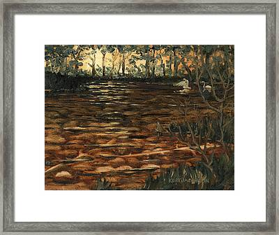 Homage To The Sun Framed Print by Kurt Jacobson
