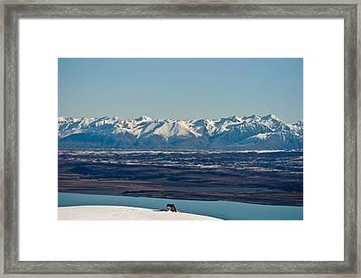 Home Alone Framed Print by Graeme Knox