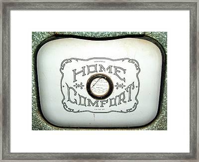 Home Comfort Framed Print by Judy Garrett