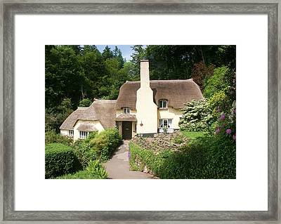 Home Cottage Framed Print