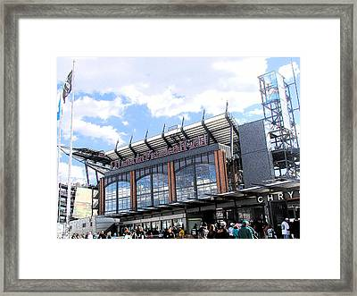 Home Of The Eagles Framed Print by Rick Thiemke