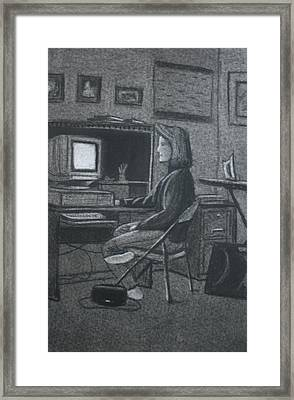 Home Office Framed Print by Stacy C Bottoms