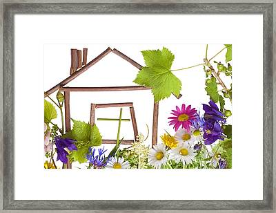 Framed Print featuring the photograph Home Sweet Home... by Aleksandr Volkov