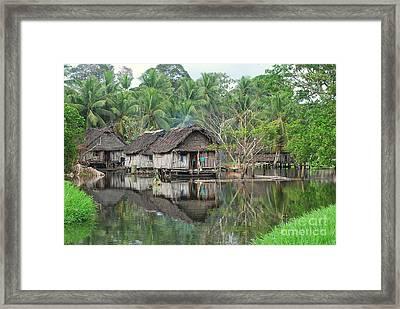 Home Sweet Home Framed Print by Anne Gordon