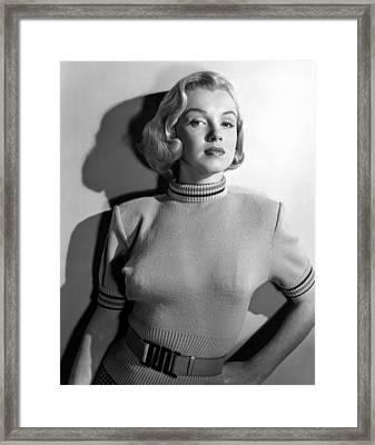 Home Town Story, Marilyn Monroe, 1951 Framed Print