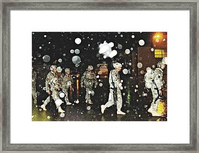 Homecoming 2009 Framed Print by Sarah Loft