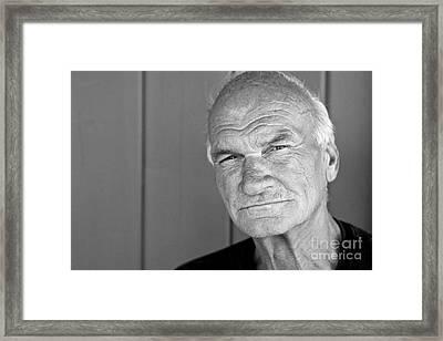Homeless Joe Framed Print