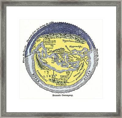 Homeric Cosmogony Framed Print by Sheila Terry