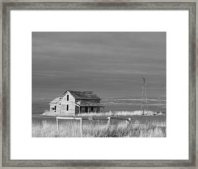 Homestead Framed Print by HW Kateley
