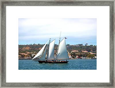 Homeward Bound Framed Print by Romy Galicia