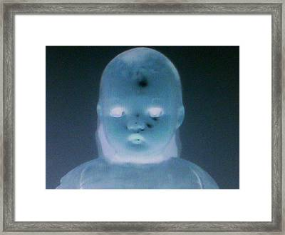 Homicidal Infant Machine Framed Print by Lee Thompson