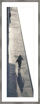Hommage To Leon Spillaert Framed Print by Jonathan Eden-Drummond