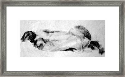 Homotrace #5 Framed Print by Alfredo Gonzalez