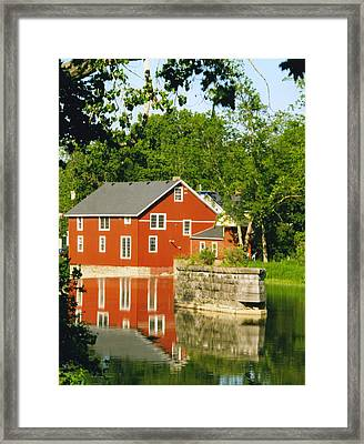 Honeoye Falls Mill One Framed Print by Joshua House