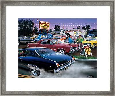 Honest Als Used Cars Framed Print by Bruce Kaiser