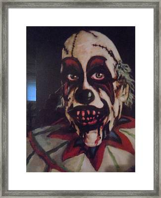 Framed Print featuring the painting Honey I'm Home by James Guentner