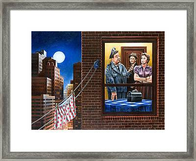 Honeymooners Framed Print