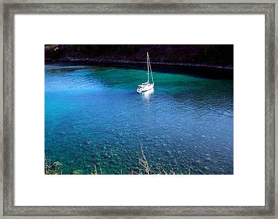 Honloa Bay Framed Print by Sean McDaniel