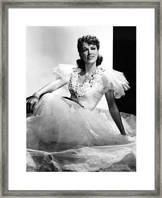 Honolulu, Eleanor Powell, 1939 Framed Print by Everett