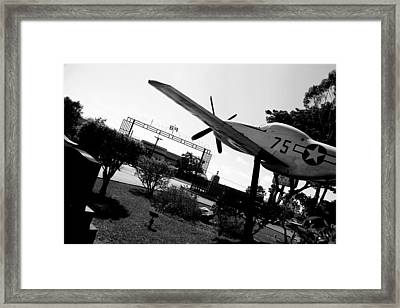 Honor At Tuskegee Framed Print by D Wash