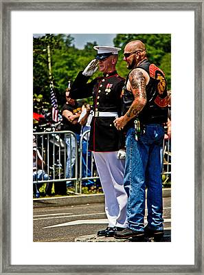 Honor Framed Print by Tom Gari Gallery-Three-Photography