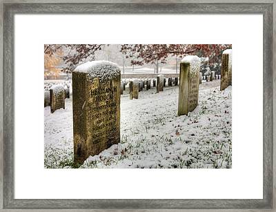 Honored Framed Print by JC Findley