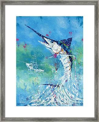 Hook Up Framed Print by Kevin Brant