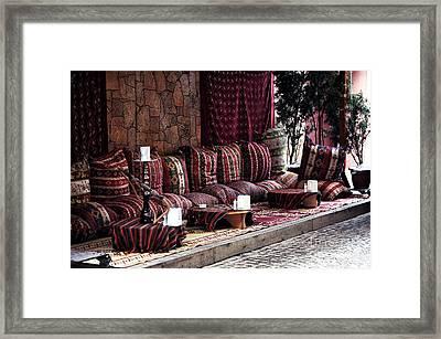 Hookah Lounge Framed Print by John Rizzuto